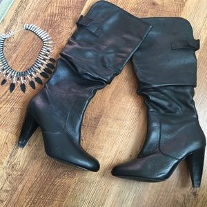 SALEFall Special Black Leather Boots