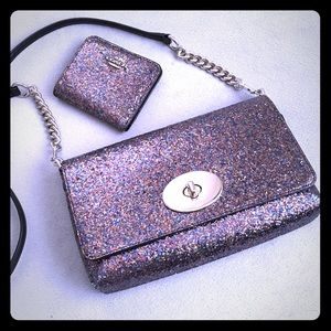 Coach Crosstown from The Glitter Collection