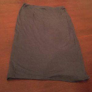 14th & Union Dresses & Skirts - 👛Grey midi pencil skirt