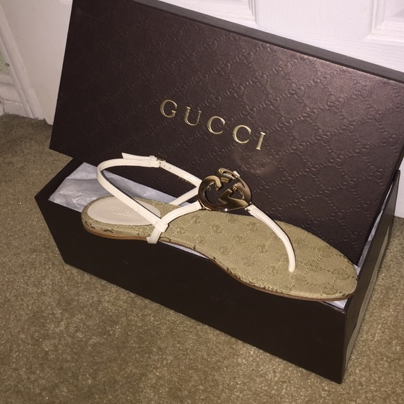 b99dae4a3 Gucci Shoes | Sold Interlocking G Flat Sandal | Poshmark
