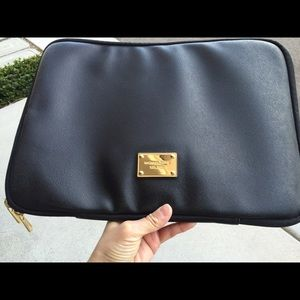Michael Kors leather laptop case