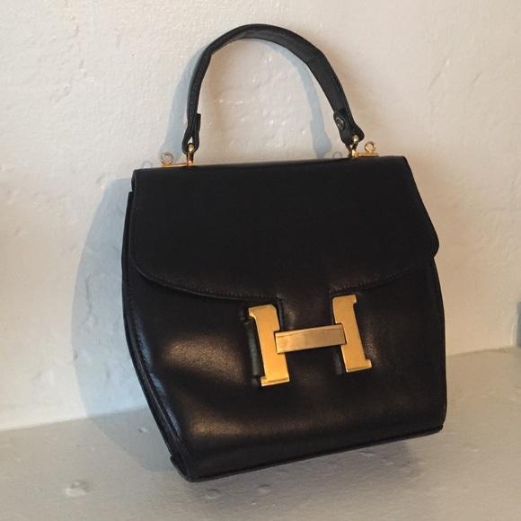 Hermes Handbags - Vintage 1960 s Hermes Handbag c27ac446ce