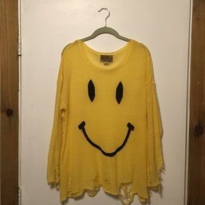 Wildfox White Label Smile Lennon Sweater