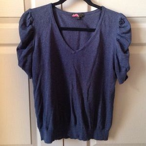 Forever 21 Navy Sweater Top