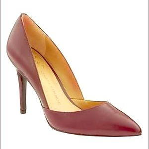 Banana Republic Shoes - NWOB Banana Republic // wine red leather pumps