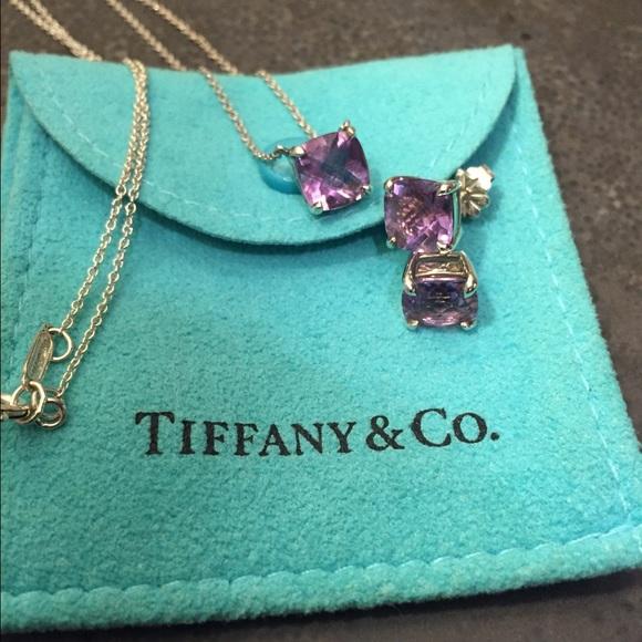 Tiffany Amp Co Jewelry Tiffany Sparkler Amethyst Pendant