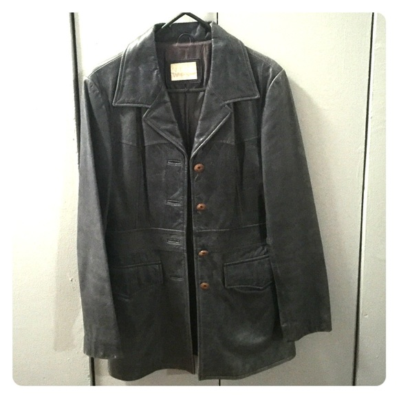 80 Off Nine West Jackets Amp Blazers Leather Jacket From