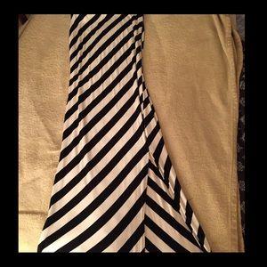 Mossimo striped tube maxi dress.