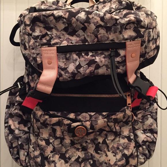 6fc97c17f9a lululemon athletica Bags   Lululemon Yogini Backpack With Detachable ...
