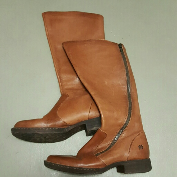 65ea06977192 Born Shoes - Born Laurette Boots Cognac sz 9