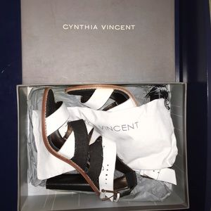 Cynthia Vincent Strappy Heels