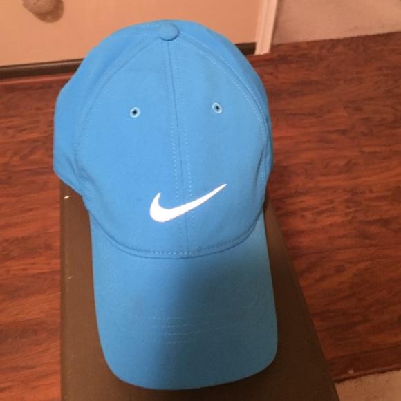 64aadc510 Baby blue Nike golf hat