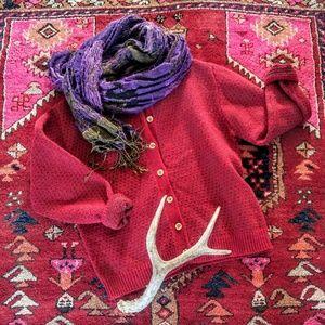 Woolrich Sweaters - Vintage Woolrich Cardigan Gypsy Cabin Style