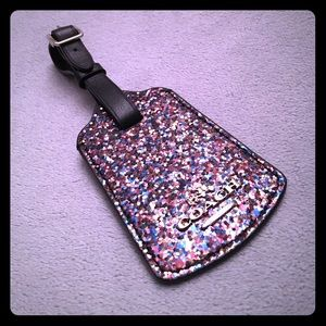 Coach Glitter Collection Luggage Tag 53553