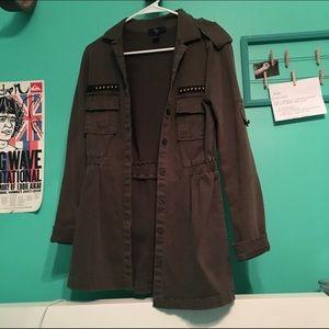 Jackets & Blazers - Green Jacket