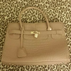 hermes bags for sale - 59% off Handbags - Additional photos for black Birkin-inspired bag ...
