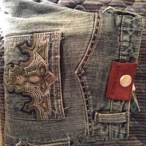 Antik Batik Pants - Antik Capri Jean capris size 32