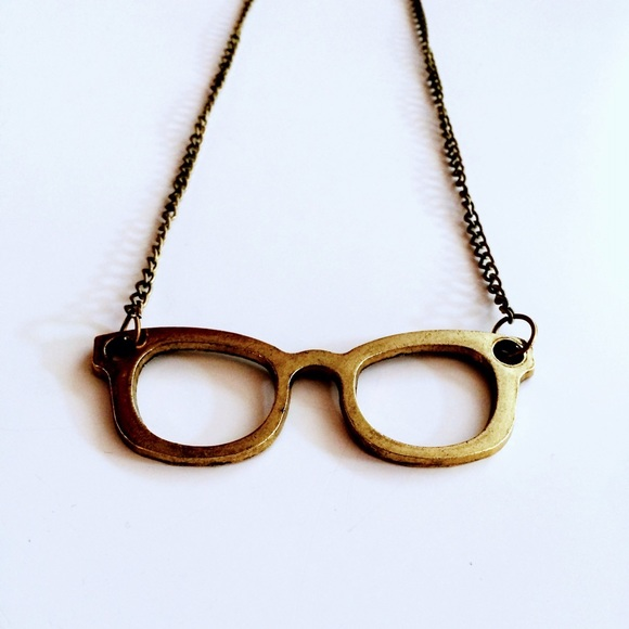 Jewelry - HALF OFF SALE | Gold Glasses Necklace