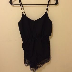 Black romper from choies.