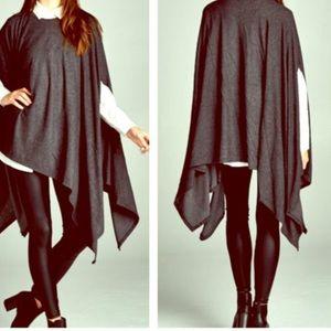 FashionBohoLoco Tops - Poncho Pleated Maxi Tunic Cape Slip Dress NWOT