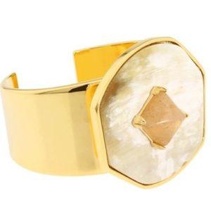 Vince Camuto Jewelry - Vince Camuto stone GEOD cuff bracelet STATEMENT