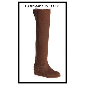 Michelle Negri Shoes - Michelle Negri Handmade Suede Boots SALE