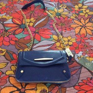 Cobalt blue crossbody bag