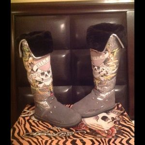 Ed Hardy Boots