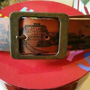 vintage  Accessories - Vintage seaside belt