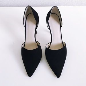 Zara Shoes - 🚫SOLD Locally🚫Zara Black Suede Pumps