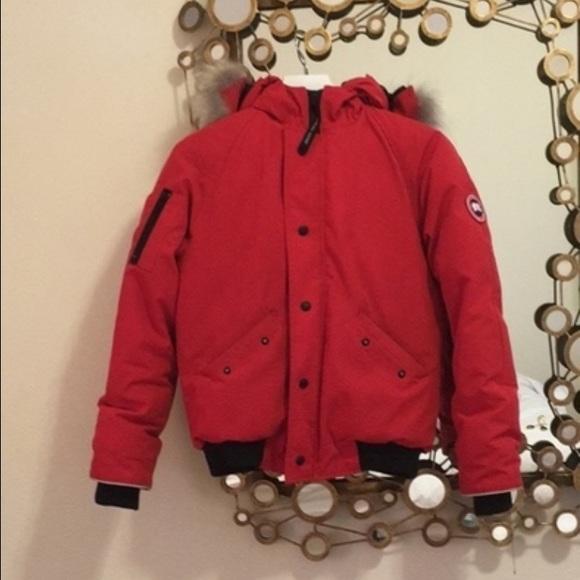 Canada Goose' Youth Rundle Bomber Jacket - Large - Red