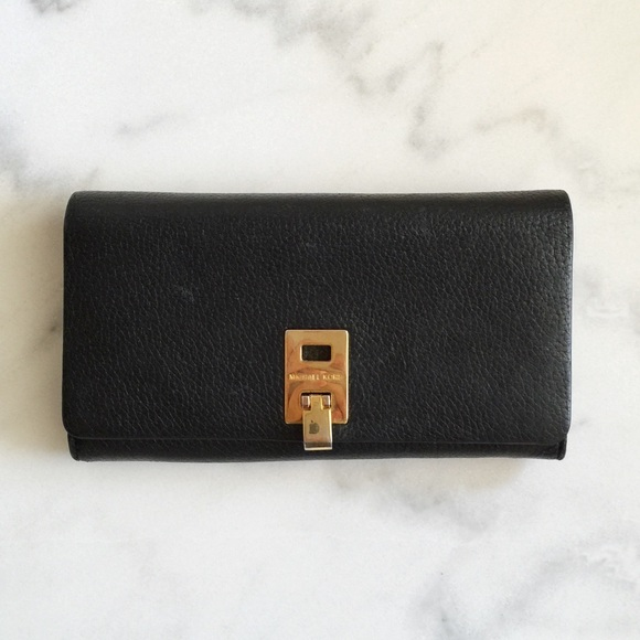 7067f2f1bbe8 Michael Kors Collection Miranda Continental Wallet.  M 56a66dddea3f36dd2e004c35