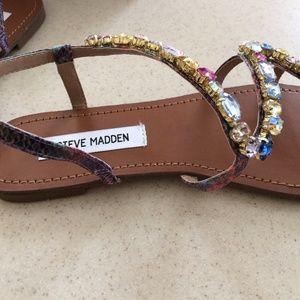 1841d12a293fe Steve Madden Shoes - Steve Madden jeweled sandals