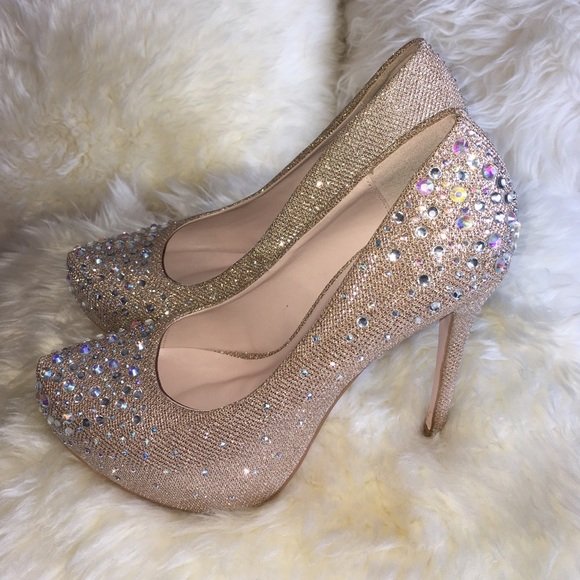 67% off Sweetie's Shoe Collection Shoes - Sweeties Nude and Gold ...