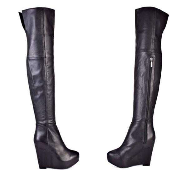 report signature report signature thigh high boots