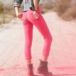 NWT NASTY GAL Hot pink pants XS S M