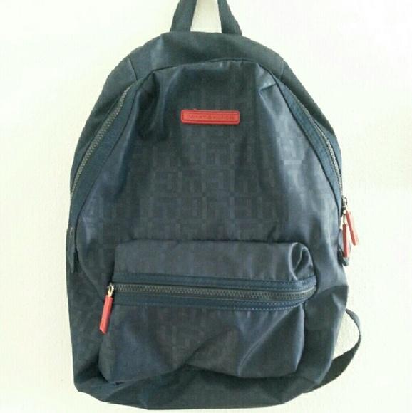 54 off tommy hilfiger handbags tommy hilfiger backpack from aryel 39 s closet on poshmark. Black Bedroom Furniture Sets. Home Design Ideas