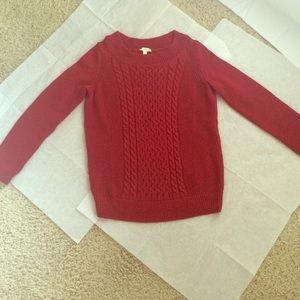Talbots red pullover!!
