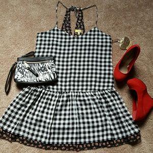Vera Wang Dresses & Skirts - PRINCESS BY VERA WANG FLOUNCE HEM DRESS NWT SIZE L