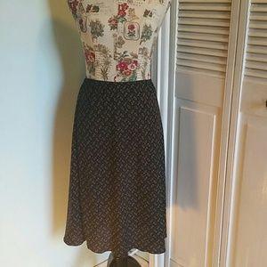 Vintage Norton McNaughton ✂️ Brown Maxi Skirt