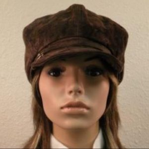 Nine West Accessories - Nine <b>West Brown</b> Conductors Hat 1 ... - s_56a6947c6a58304da0008284