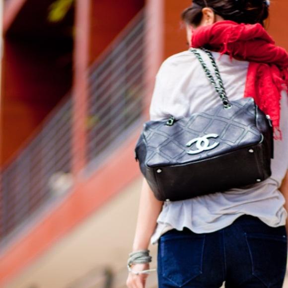 6f4d9a54cfb53c CHANEL Handbags - Chanel diamond stitch tote in black!!! 💖💕💖