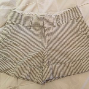 Club Monaco seersucker shorts