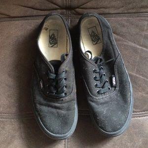 Shoes - Black Vans