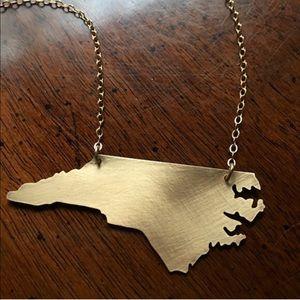 Custom Jewelry - North Carolina necklace