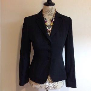 Georgiou Jackets & Blazers - Georgiou Black 40% Wool Blazer 2