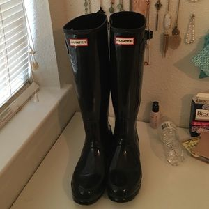 sold. Hunter boots