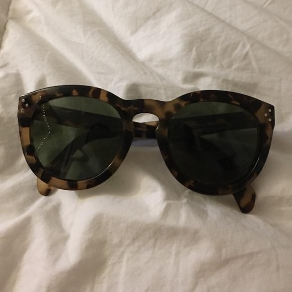acb97bec9af Celine Accessories - Celine 41801 S Sunglasses tortoise shell