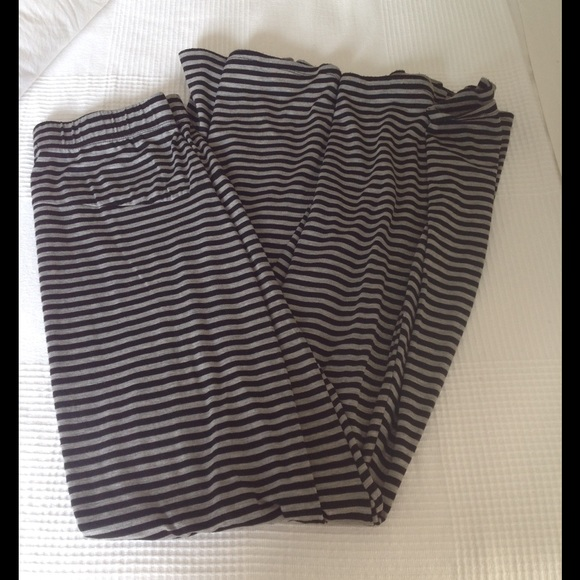 41 bke dresses skirts black and gray striped maxi