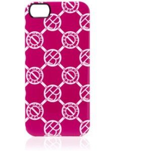 henri bendel Accessories - Henri Bendel Logo Pink Circle Phone Case